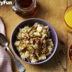 Slow Cooker Apple-and-Cinnamon Oatmeal Recipe From FamilyFun