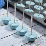 A Smurf Blue Yogurt Pop Recipe