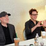 Director James Gunn   & President of Marvel Studios Kevin Feige