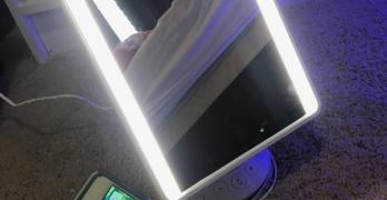 Must Have: Bluetooth Speaker Vanity Mirror