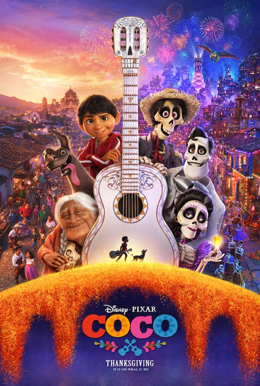 FUN new COCO Trailer and Cute Movie Poster #PixarCocoEvent