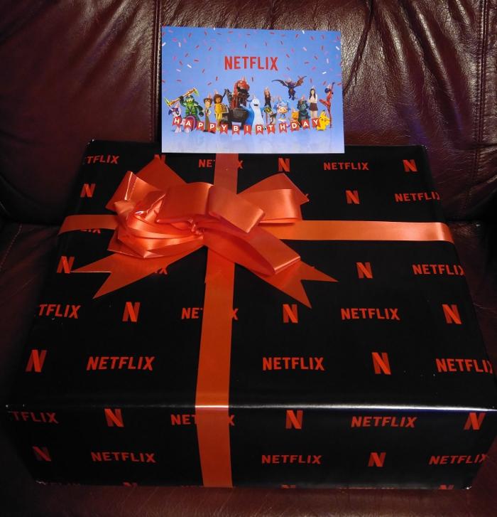 Netflix birthday gift