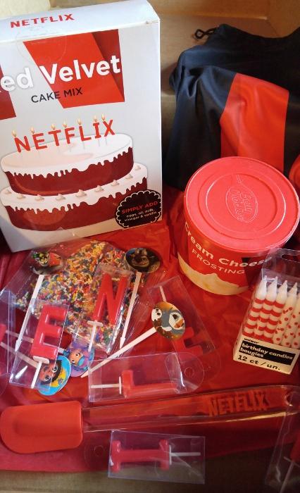 Netflix cake mix