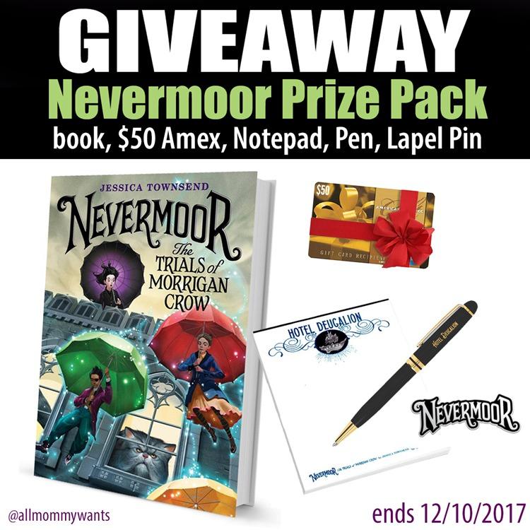 nevermoor giveaway
