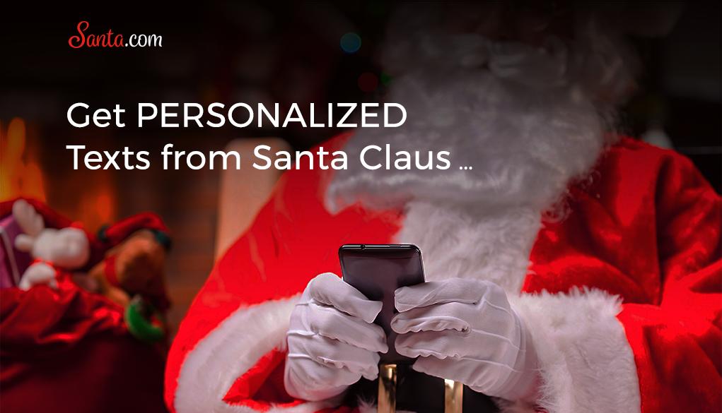 Get texts from Santa!