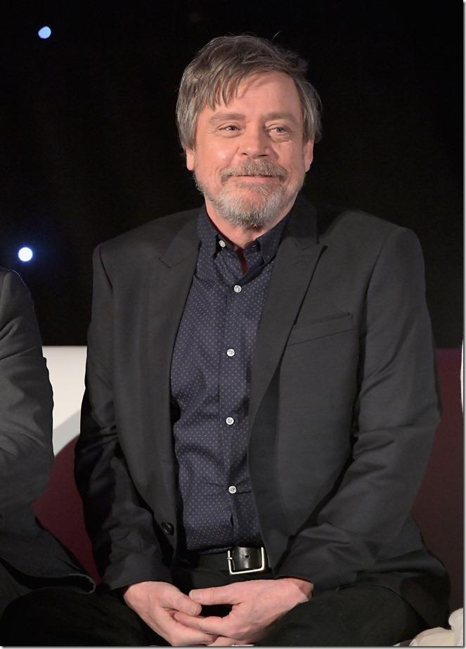 Mark Hamill The Last Jedi Press Conference
