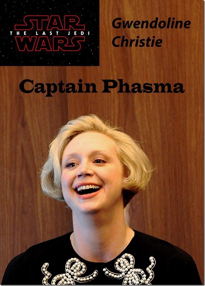 Gwendoline Christie Captain Phasma Last Jedi