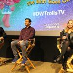 Interview With Amanda Leighton, Skylar Astin & Matthew Beans #DWTrollsTV