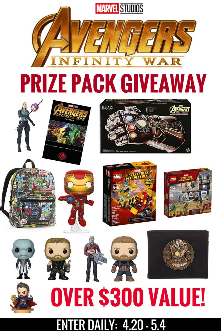 Avengers Infinity War $300 Giveaway