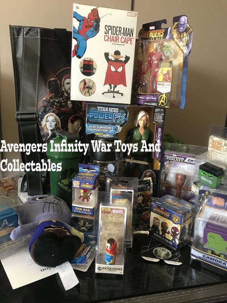 Avengers infinity War Toys