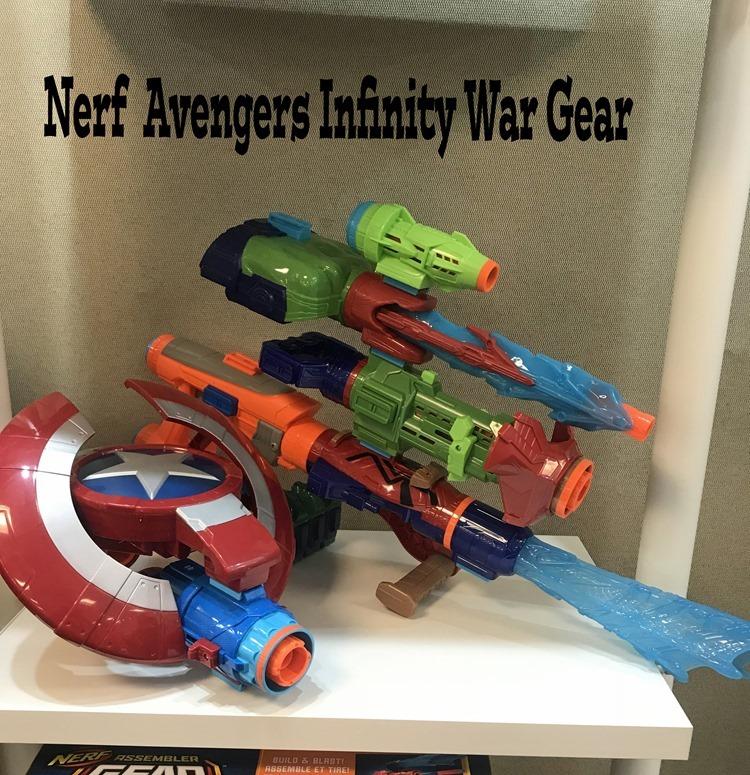 Nerf Avengers Infinity War Gear
