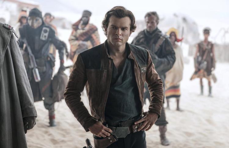 """Alden Ehrenreich as (""""Han Solo"""")"""