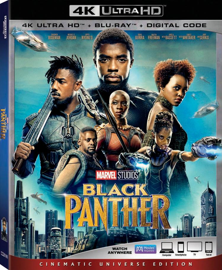 Black Panther 4K Box Art