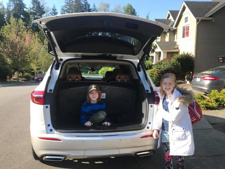 Buick Enclave trunk