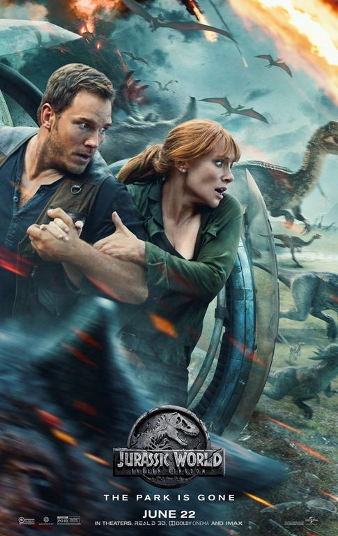 Jurassic World: Fallen Kingdom Prize Package Giveaway