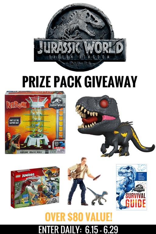 Jurassic World: Fallen Kingdom Prize Pack