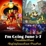 Incredibles 2 Press Junket, Pixar Fest & More