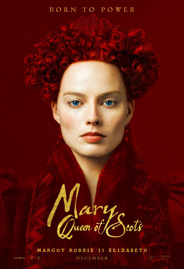 Mary Queen of Scots - Margot Robbie character poster