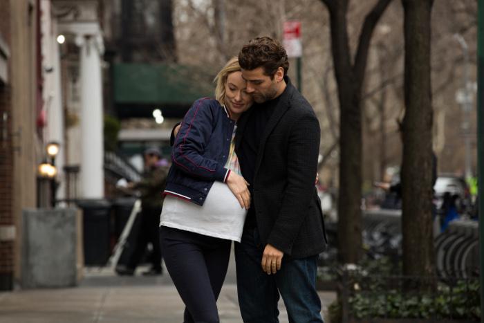 Olivia Wilde and Oscar Isaac