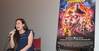 Avengers Infinity War Gauntlet Wax and Trinh Tran