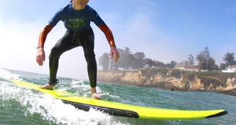 Surf's Up With Club Ed at Dream Inn Santa Cruz!
