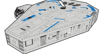 Millennium Falcon Papercraft & More Fun!