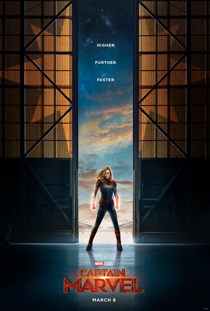 Captain Marvel Teaser Poster