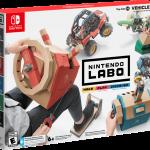 Imagine More Fun With Nintendo Labo: Vehicle Kit