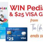 Pedia-Lax Plus $25 Gift Card Giveaway