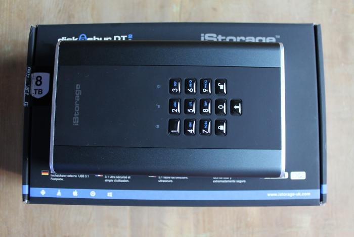 diskAshur DT2 USB 3.1 HDD